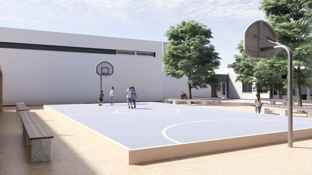210113 Het Metrum (Basketball court)